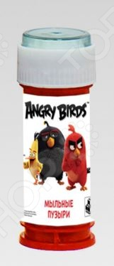 Мыльные пузыри 1 Toy Angry Birds ледянки 1 toy angry birds 94 см т56333