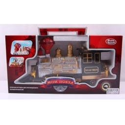 фото Поезд игрушечный PlaySmart «Мой поезд,» Р41380