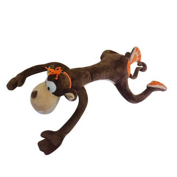 фото Мягкая игрушка Maxitoys «Обезьянка Апельсинка». Размер: 50 см