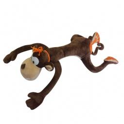 фото Мягкая игрушка Maxitoys «Обезьянка Апельсинка». Размер: 40 см