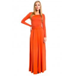 фото Платье Mondigo 7003. Цвет: терракотовый. Размер одежды: 46