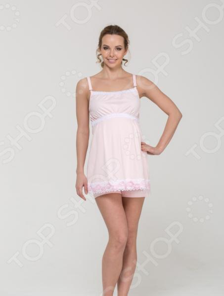 Пижама для беременных Nuova Vita 101.3. Цвет: розовый футболка для беременных nuova vita 1226 01 цвет чёрный