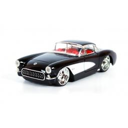 фото Модель автомобиля 1:24 Jada Toys Chevy Corvette 1957. Цвет: черный