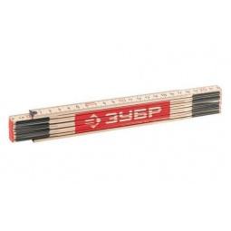 Купить Метр складной усиленный Зубр «Эксперт» 3424-2_z01