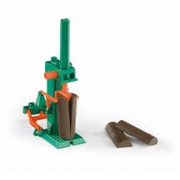 фото Дополнение к игрушечным машинкам Bruder «Станок для колки бревен»