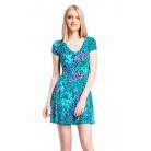 Фото Платье Mondigo 7055-1. Цвет: изумрудный. Размер одежды: 44
