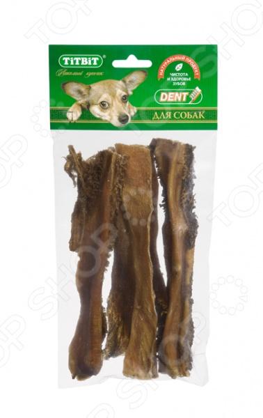 Лакомство для собак TiTBiT 7299 «Рубец говяжий XL»