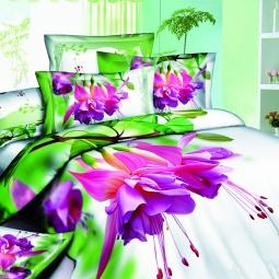 фото Комплект постельного белья с эффектом 3D Buenas Noches Vlechenie. 2-спальный