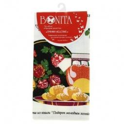 фото Полотенце вафельное BONITA «Пряники медовые»