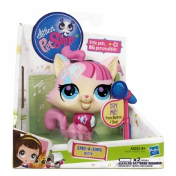 фото Набор игровой для девочек Littlest Pet Shop Поющие зверюшки. В ассортименте