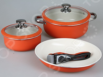 Набор посуды для готовки Pomi d'Oro Terracotta Conveniente Set