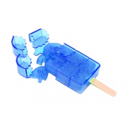 фото Пазл-конструктор 3D Ice Puzzle Ice Cream. Цвет: голубой