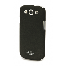 фото Крышка защитная LaZarr Soft Touch для Samsung Galaxy S3 i9300. Цвет: черный