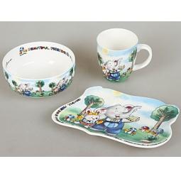 Купить Набор посуды для детей Rosenberg 8771