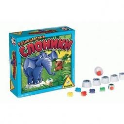 Купить Игра настольная Piatnik Разноцветные слоники