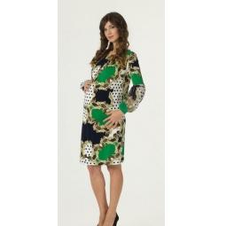 Купить Платье для беременных Nuova Vita 2140.03. Цвет: зеленый