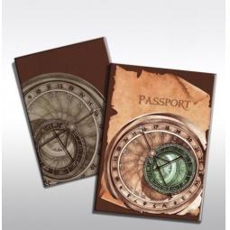 фото Обложка для паспорта Феникс-Презент «Циферблат»