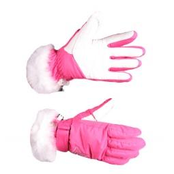 Купить Перчатки горнолыжные GLANCE Lady (2012-13). Цвет: розовый