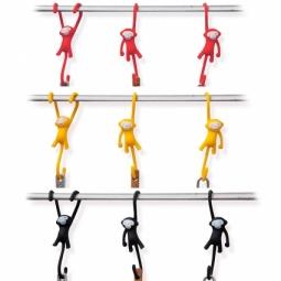 фото Крючки кухонные Monkey Business Just hanging. В ассортименте