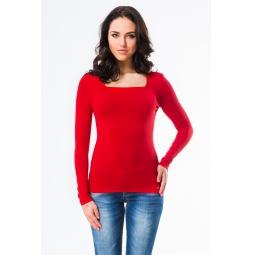 фото Кофта Mondigo 7014. Цвет: красный. Размер одежды: 42