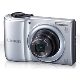 фото Фотокамера цифровая Canon PowerShot A810. Цвет: серебристый