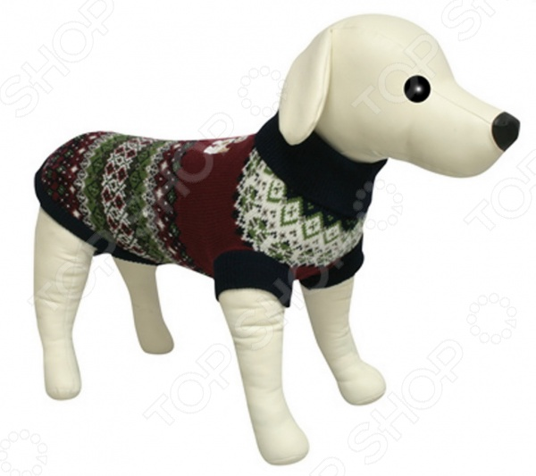 Свитер-попона для собак DEZZIE 562575 свитер для собак dezzie 562565