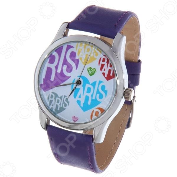 Часы наручные Mitya Veselkov «Цветные сердца и Париж» цена и фото