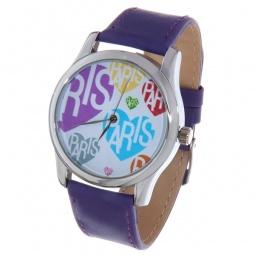 фото Часы наручные Mitya Veselkov «Цветные сердца и Париж»