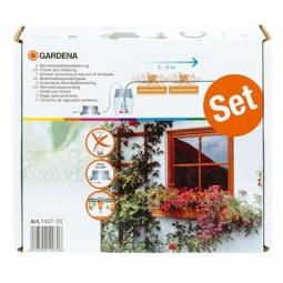 Купить Комплект микрокапельного полива горшечных растений Gardena 1407