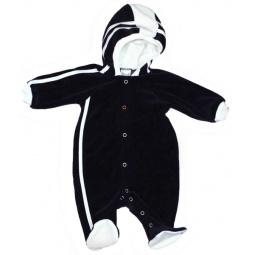 фото Комбинезон для новорожденных велюровый с капюшоном Ёмаё. Размер: 36