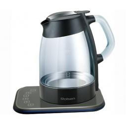 фото Набор: чайник Rolsen RK-3716 GD и чайник заварочный Rolsen TCG-1000. Цвет: черный