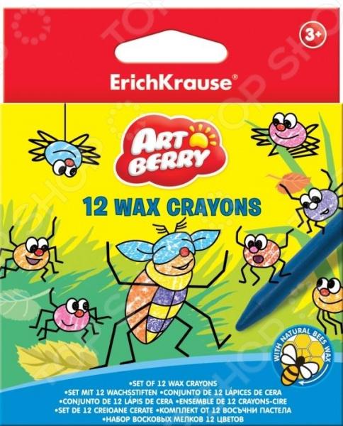 Набор мелков восковых Erich Krause Artberry: 12 цветов