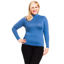 фото Водолазка Mondigo XL 036. Цвет: джинсовый. Размер одежды: 50