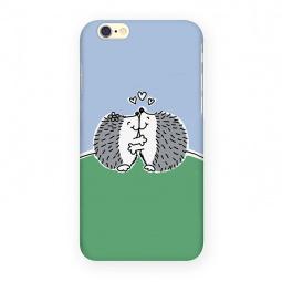 фото Чехол для iPhone 6 Mitya Veselkov «Влюбленные ежики»