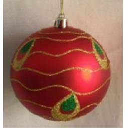 фото Набор новогодних шаров Феникс-Презент 39031 «Павлин»
