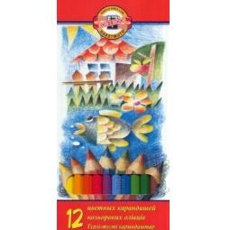 фото Набор карандашей цветных Koh-I-Noor La Paloma «Карп»