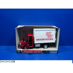 Купить Машина инерционная Joy Toy «Газель фургон Игрушки» Р40519