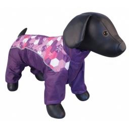 фото Комбинезон для собак DEZZIE «Шпиц». Цвет: фиолетовый