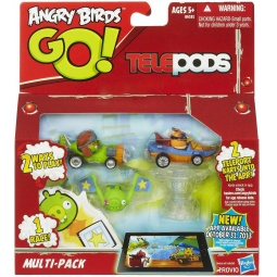 фото Набор игровой интерактивный: фигурки и телепод Hasbro A6181 «Angry Birds. Go!»
