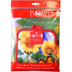 фото Комплект из прихватки и фартука подарочный BONITA «Настроение» 2002212048