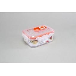 фото Контейнер вакуумный Stahlberg для продуктов. Цвет: оранжевый