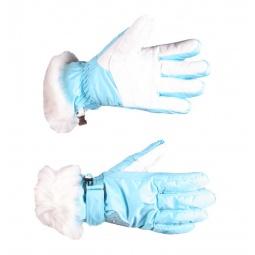 Купить Перчатки горнолыжные GLANCE Lady (2012-13). Цвет: голубой