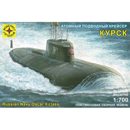 Купить Сборная модель подводного крейсера Моделист «Атомный крейсер Курск» 20896
