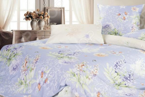 Комплект постельного белья Ecotex «Берта». СемейныйСемейные<br>Комплект постельного белья Ecotex Берта удивительный постельный набор, который понравится тем, кто ценит комфорт, красоту и качество. Выполненные из натурального хлопкового материала комфорт-сатина, который отличается приятной шелковистостью и текстурой, изделия станут идеальным решением для здорового и комфортного сна. Благодаря тому, что сатин изготавливается из крученой хлопковой нити особого плетения, он сочетает в себе прочность, легкость и удивительную износоустойчивость. Этот материал относится к категории высококачественных тканей, которые идеально подходят для повседневного использования. Сатиновое постельное белье не электризуется и не скользит по кровати, а также сохраняет свою первоначальную форму даже после многочисленных стирок. Такой комплект привлекает своим роскошным внешним видом, высоким качеством и прекрасными характеристиками. Другой особенностью комплекта постельного белья Ecotex Берта является его современный дизайн, который придется по вкусу даже самым взыскательным ценителям стиля, красоты и практичности. При нанесении рисунка используются только высококачественные нетоксичные краски, которые отличаются высокой стойкостью. Приятная глазу цветовая гамма белья и элегантный, лаконичный принт отлично сочетаются между собой, благодаря чему комплект идеально вписывается в интерьер любой спальни и прекрасно его дополняет.<br>