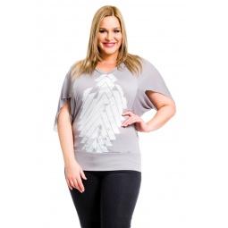 фото Кофта Mondigo XL 8510. Цвет: серый. Размер одежды: 52