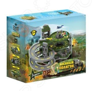 Набор игровой для мальчика Нордпласт «Военный полигон» набор игровой для мальчика poli средний трек с умной машинкой