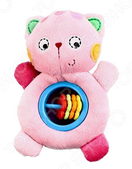Мягкая игрушка развивающая Жирафики 93645 «Котенок»Мягкие развивающие игрушки<br>Развивающая игрушка мягкая Жирафики 93645 Котенок это отличное приобретение для вашего крохи. Игры с ней будут способствовать развитию у малыша мелкой моторики рук, хватательного рефлекса и сенсорного восприятия. Игрушка выполнена в ярких красочных цветах и снабжена пищалкой и счетами-погремушкой. Предназначено для детей в возрасте от 3-х месяцев.<br>