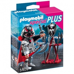фото Набор фигурок к игровому конструктору Playmobil «Дополнение: Воин, стенд с оружием»