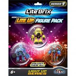 фото Набор фигурок к игровому конструктору Lite Brix «Фигурки». В ассортименте