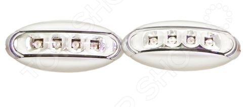 Повторитель поворота Glipart GT-30771Тюнинг и аксессуары<br>Повторитель поворота Glipart GT-30771 представляет собой устройство, предназначенное для дублирования сигналов поворотников. Это не только залог безопасности при маневрах на дороге, но и оригинальный элемент тюнинга для авто. Повторитель снабжен четырьмя светодиодными лампочками; крепится к внешней поверхности машины и подключается к общей системе сигнализирования. В комплекте две штуки.<br>